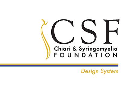 CSF - Chiari & Syringomyelia Foundation Rebrand