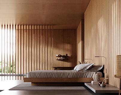 IN WOOD - BEDROOM
