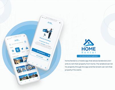 Ui/ Ux Case study (BD Home Rental)