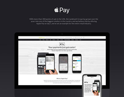 Apple Pay Landing Page