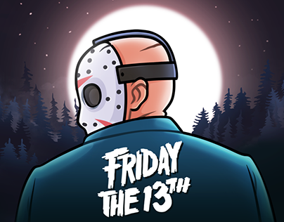 JASON VOORHEES. Telegram Stickers — 2018