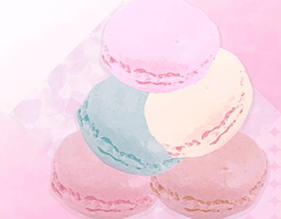 Adult Girly Macaron