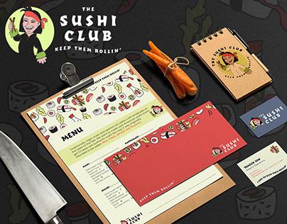 Brand Design: The Sushi Club