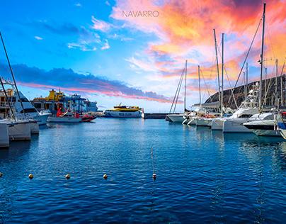 Marina, La Gomera