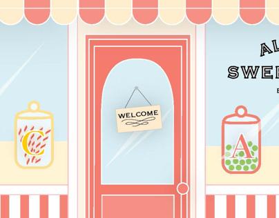 Alphabet Sweet Shoppe