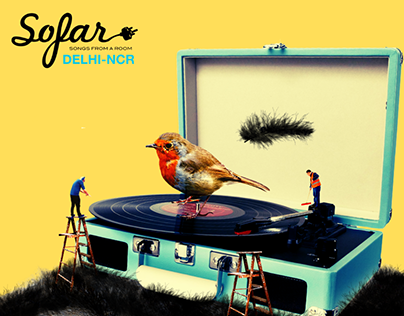 Sofar Sounds | India | Gig Posters