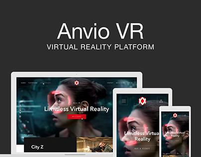 Anvio VR website