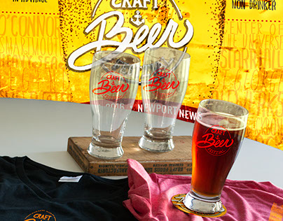 Mariners' Museum Craft Beer Festival Poster