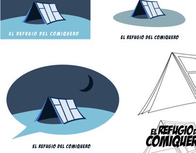 """Identidad gráfica para """"EL Refugio del Comiquero"""" FB"""