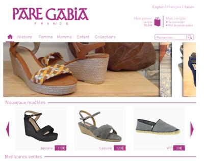 Webdesign Pare Gabia