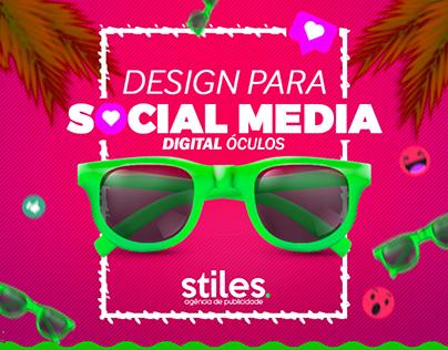 Social Media - Digital Óculos