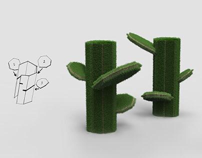 Fluffy cactus