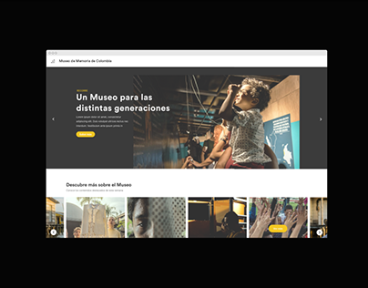 Museum of Memory of Colombia — Website