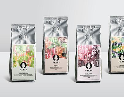 Caras Coffee Packaging