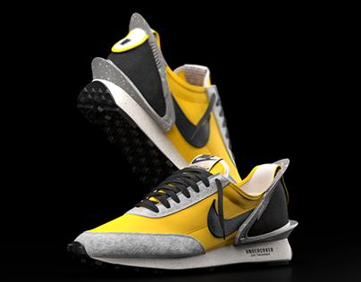Nike Daybreak x Undercover 3d model