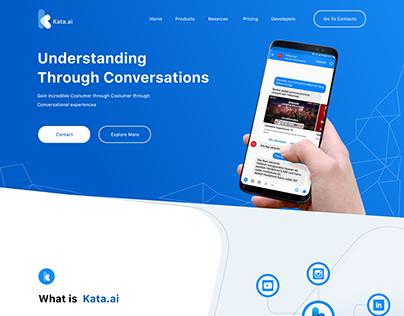 """Kata Website """"Design Training"""""""