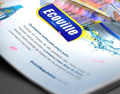 Anúncio de Revista - Quem entende de limpeza