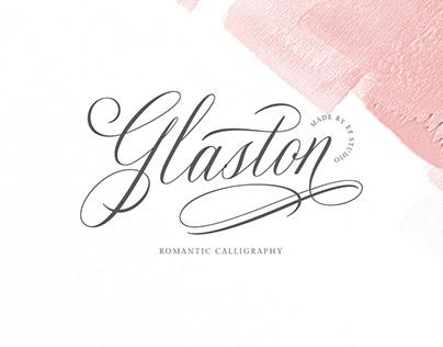 Glaston Romantic Calligraphy