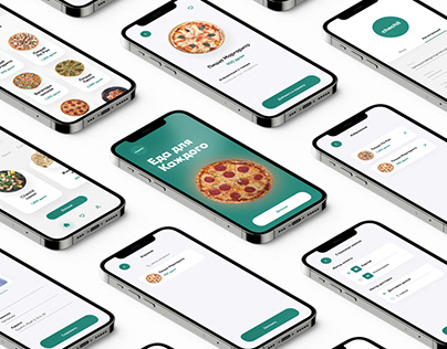 Food delivery app design, Checil food delivery
