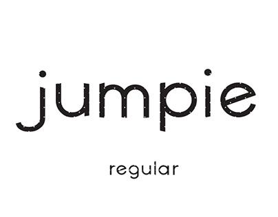 JUMPIE - FREE MODERN SANS SERIF FONT