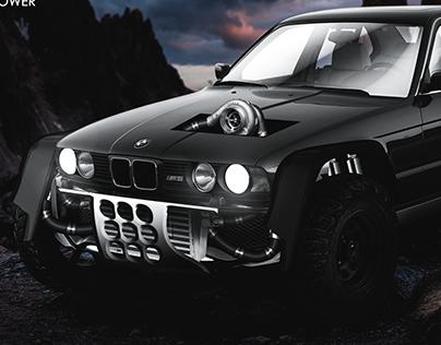 BMW M5 e34 4x4