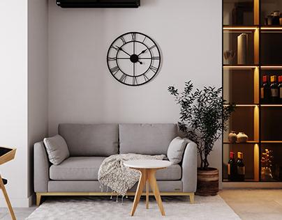 Interior design in Kiev region