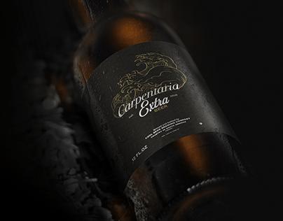 Carpentaria beer brand   Branding
