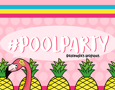 Decorações de Pool Party