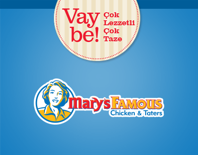 Mary's Famous Product Testimonials Facebook Tab Design