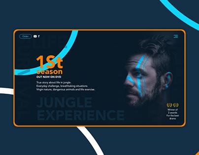 UI design of Jungle Experience movie