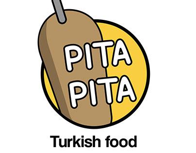 Diseño logotipo Pita Pita