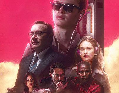 Baby Driver // Movie Poster