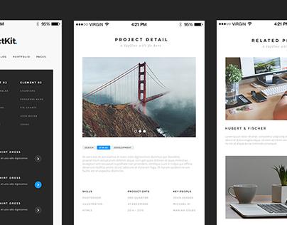 PerfectKit – desktop & mobile ready modern UI kit