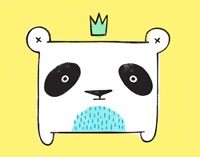 Cute Animal Illustrations for Earfftopia