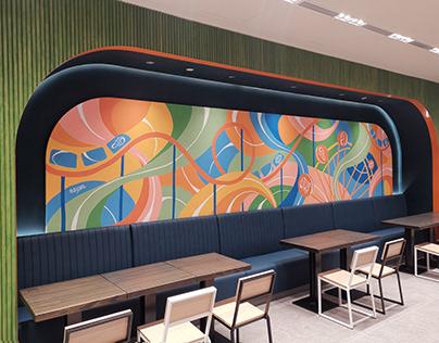 Shake Shack Mural - Great World City