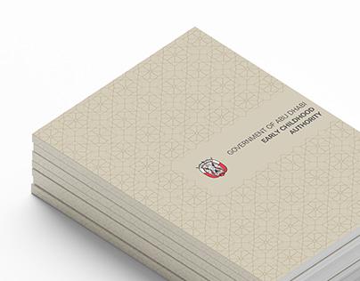 Government Of Abu Dhabi   Book Design