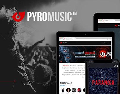 PYROMUSIC App