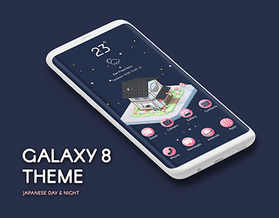 Samsung Galaxy S8 Theme