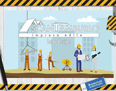"""""""Scantamburlo Impresa Edile"""" Logo Design"""