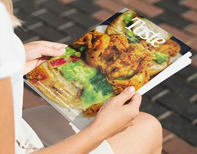 'Taste' - Magazine cover design