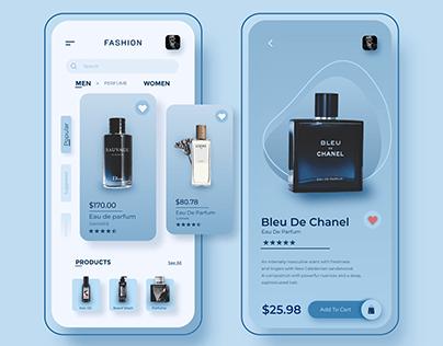 Fashion App Concept