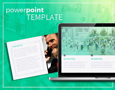FREE 'Xe' Power Point modern business minimal template