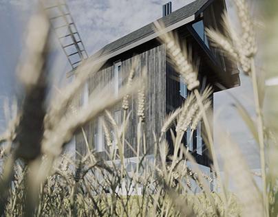 Windmill House (CGI)