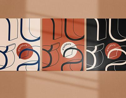 visual identity I huga architecture