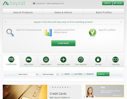 Bayzat.com revamp