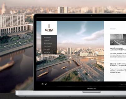 GRM - Corporate website