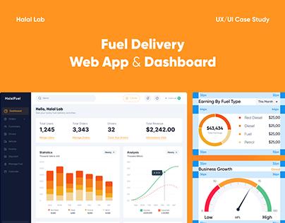Fuel Delivery Service - Web App & Dashboard