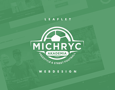 akademia MICHRYC / webdesign & leaflets & posters
