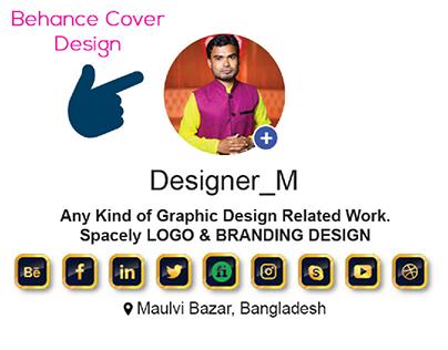 Behance Cover Design