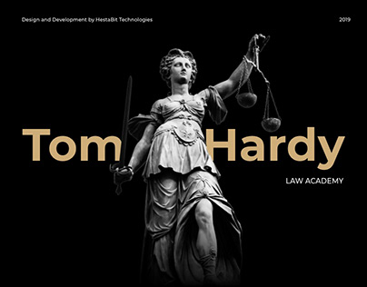 Law Academy- Website Design